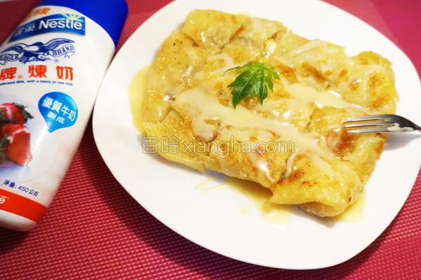 泰式香蕉煎饼的做法