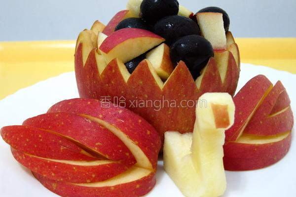 苹果雕的做法