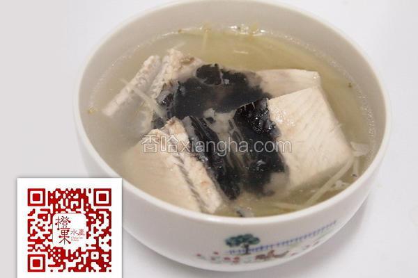 姜丝虱目鱼肚汤