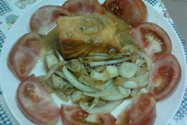 橘酱鲑鱼的做法