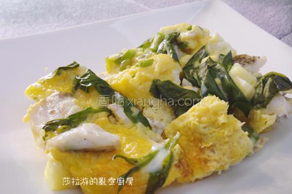 蔬菜鱼肉玉子烧的做法