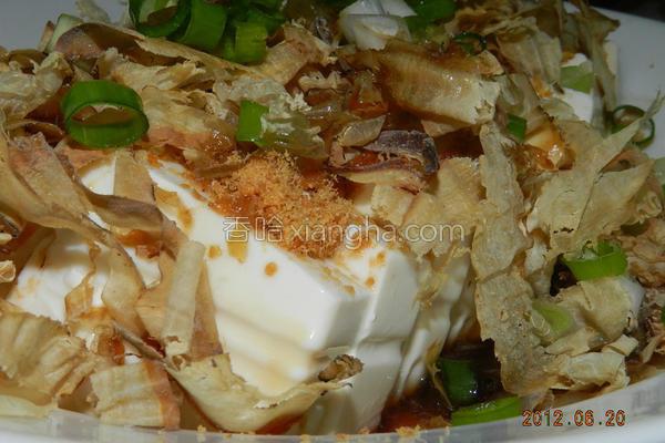 凉拌柴鱼豆腐的做法