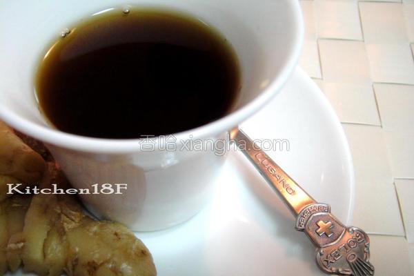 黑糖姜茶简易电锅的做法
