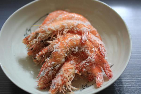烤虾子的做法