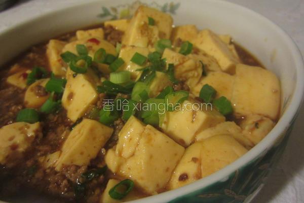 麻婆蛋豆腐的做法