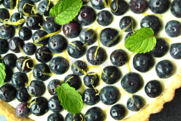 速成蓝莓乳酪塔的做法