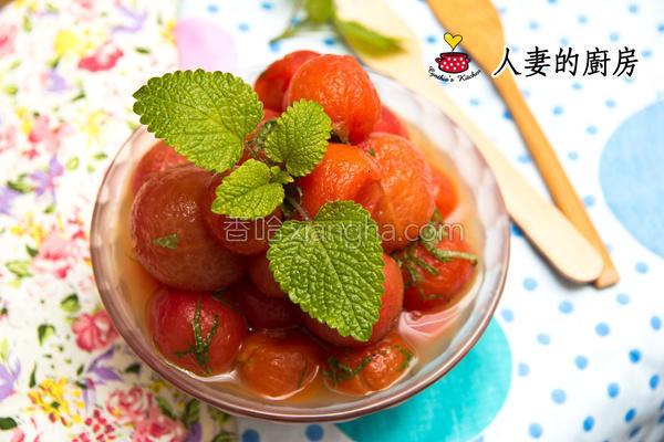 厨房梅酱渍番茄的做法