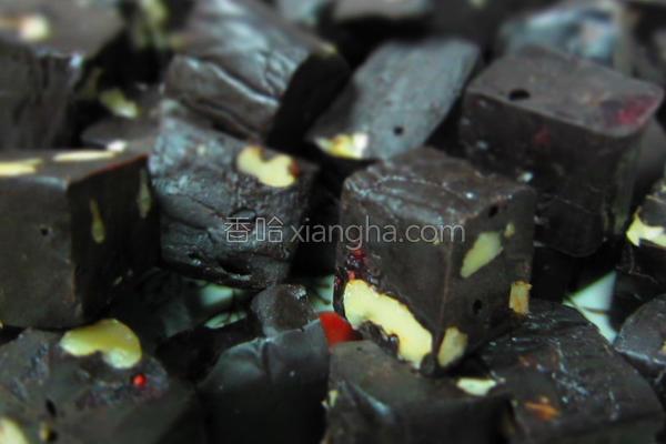 超级巧克力软糖的做法