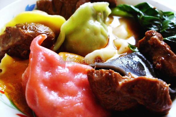 红烧牛腩汤的做法