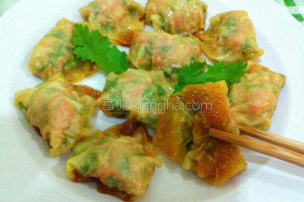 香煎肉饺子的做法