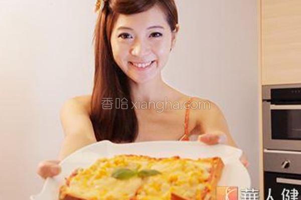吐司皮披萨的做法