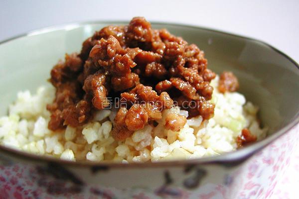 简易台湾卤肉燥的做法