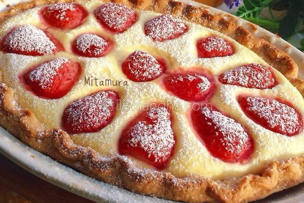 草莓舒芙蕾蛋塔的做法