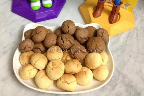 起司及巧克力饼干的做法