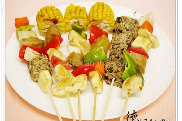 中秋节素食烤肉的做法