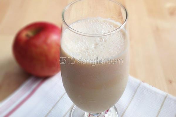 苹果鲜奶的做法