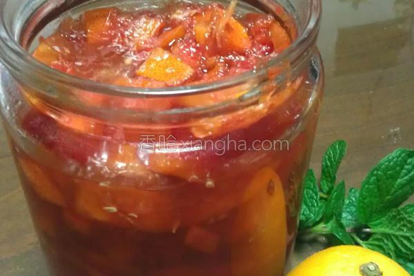 懒人葡萄柚果酱的做法