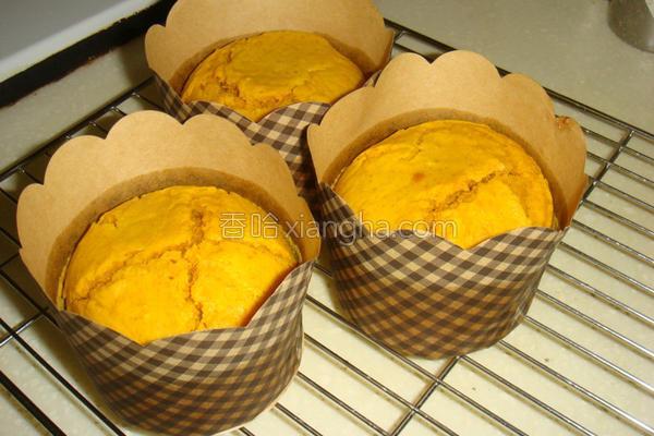 全麦南瓜蛋糕的做法