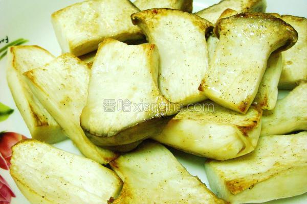 椒盐杏鲍菇的做法