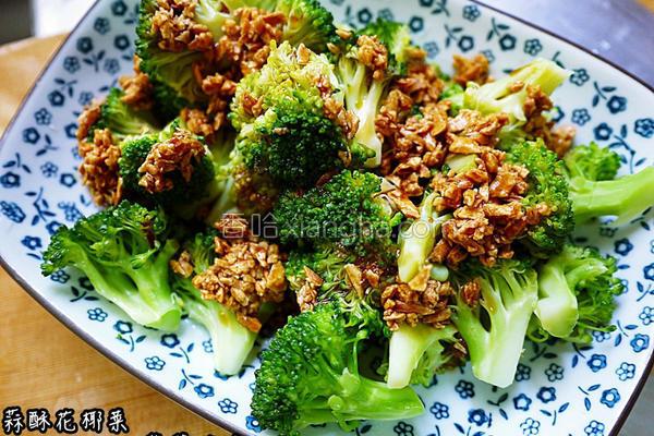 蒜酥花椰菜的做法