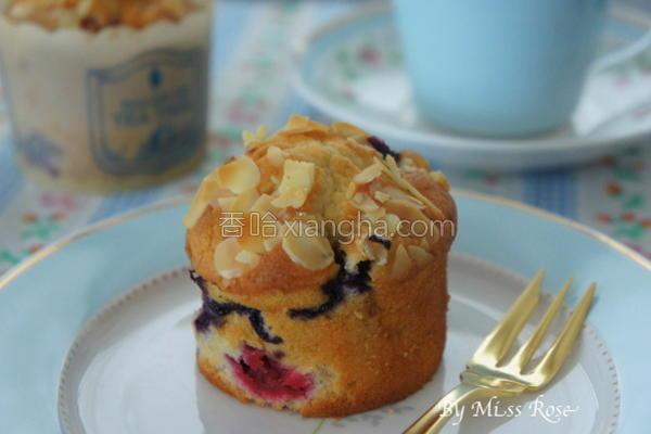 莓果杯子蛋糕的做法