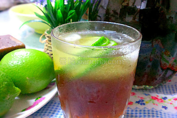 冬瓜柠檬饮的做法