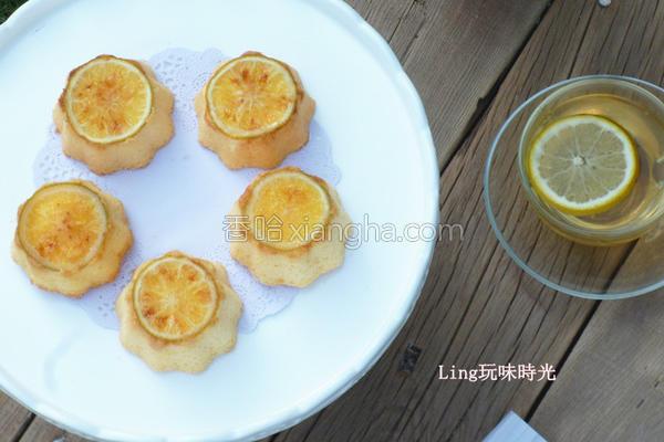 柳橙小蛋糕的做法