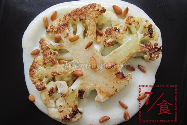 7/食白花椰菜两的做法