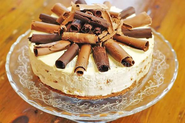 梨子咖啡芝士蛋糕的做法