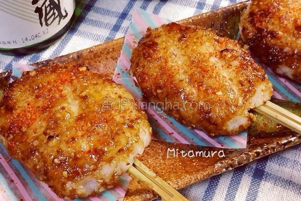日式烤米饼的做法