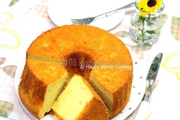 杏仁戚风蛋糕的做法