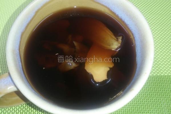 桂圆生姜茶的做法