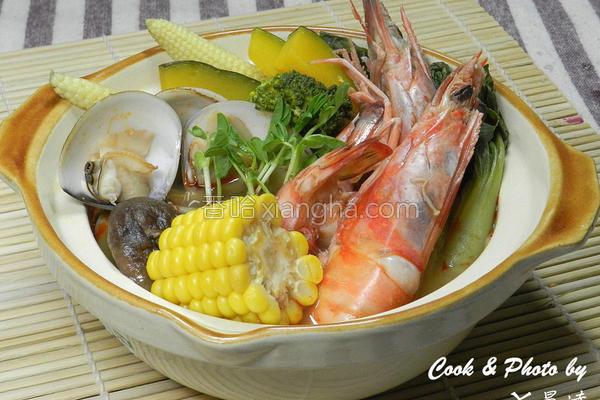 泰式酸辣明虾的做法