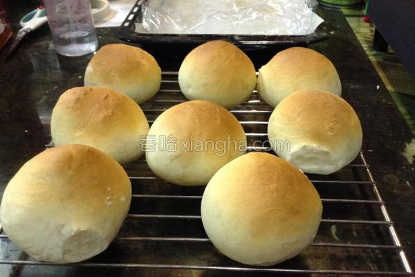 圆面包的做法