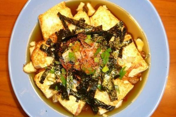 日式豆腐的做法
