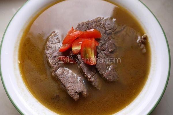 番茄红酒牛肉汤的做法