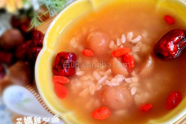 桂圆红枣糯米粥的做法