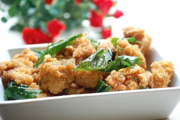 台式盐酥鸡的做法