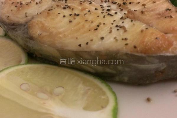 香煎柠檬土魠鱼的做法