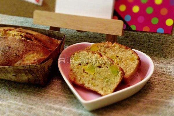 南瓜全麦磅蛋糕的做法
