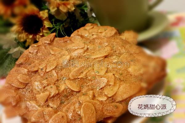 海苔杏仁瓦片的做法