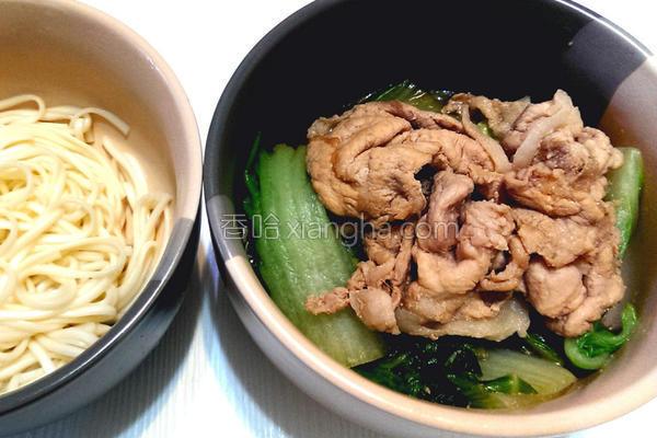 大白菜猪肉片的做法