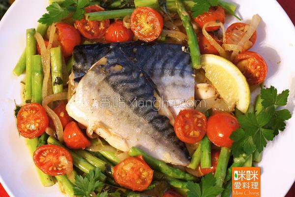 地中海风鲭鱼的做法