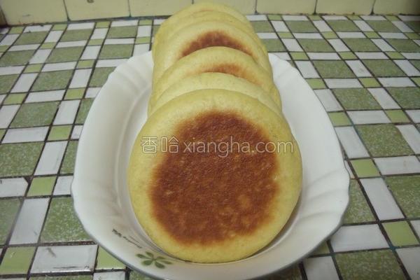 干烙芒果煎饼的做法