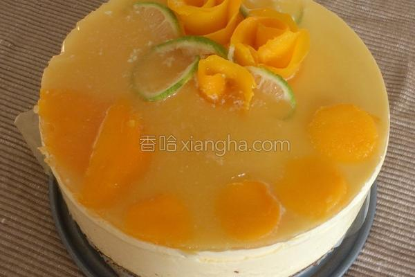 芒果乳酪蛋糕的做法