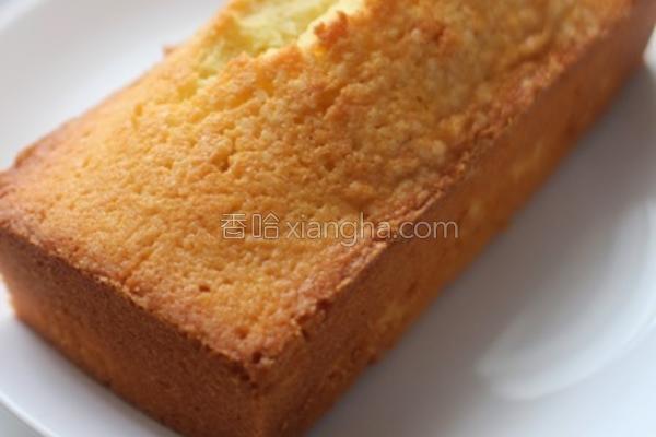 柠檬牛油蛋糕的做法