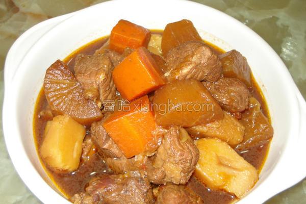 红烧番茄猪肉的做法