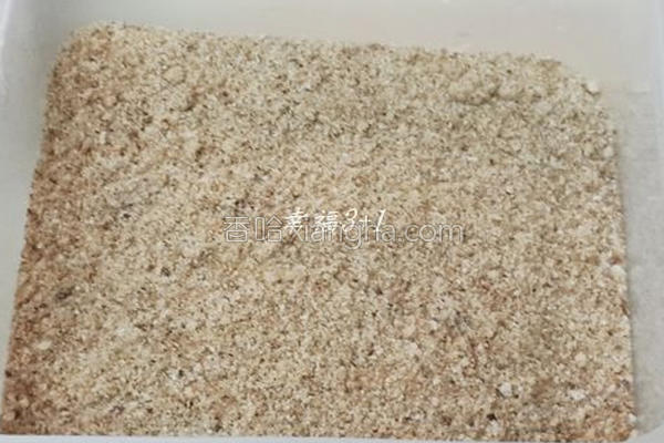 自制面包粉的做法
