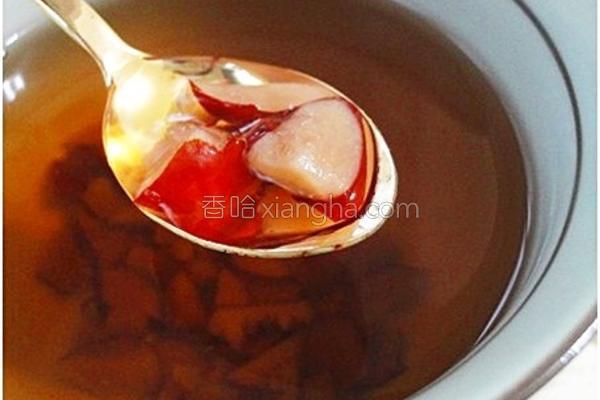 黑糖红枣茶的做法