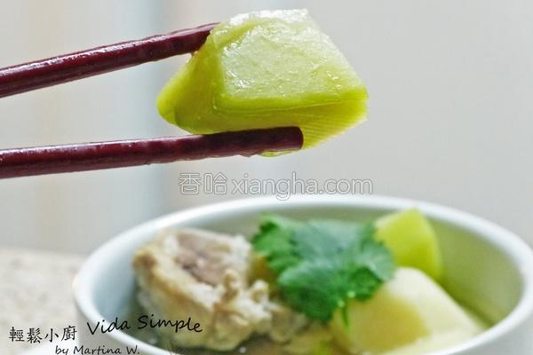 佛手瓜排骨汤的做法
